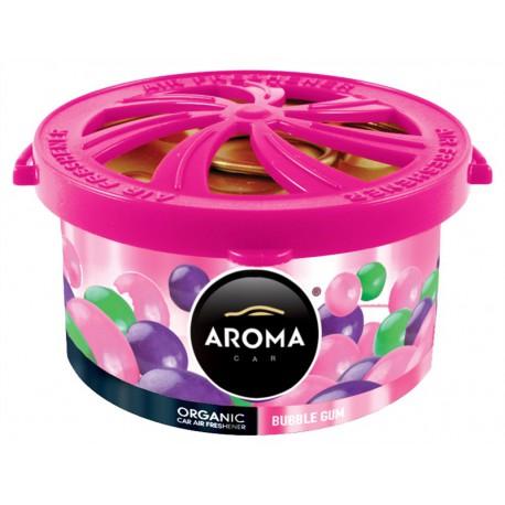 AROMA CAR ORGANIC 40 g BUBBLE GUM