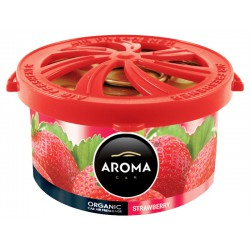 AROMA CAR ORGANIC 40 g STRAWBERRY