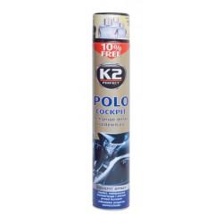 K2 POLO COCKPIT 750 ml BLACK - ochrana vnitřních plastů