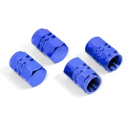 Ozdobné kryty ventilků modré