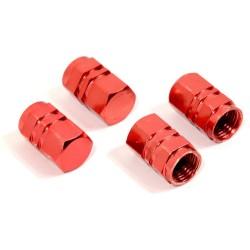 Ozdobné kryty ventilků červené